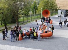 schoolbell at a school in The Hague