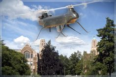 Universities are buying drones faster than police departments -- and the military is helping foot the bill