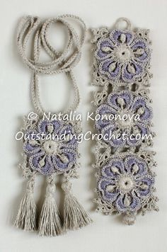 ✼✼ Colar em Crochê 2015 - /✼✼ Necklace with Crochet 2015 -