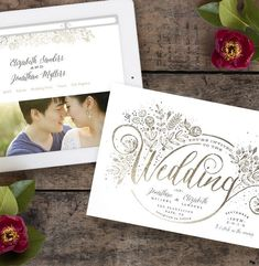 Show how your loves grows with a floral themed Minted wedding invitation, like this foil-pressed design by Minted artist Phrosne Ras. Available in gold and silver foil on Minted. Classic Wedding Invitations, Wedding Stationery, Timeless Wedding, Wedding Matches, Wedding Website, Save The Date Cards, Wedding Gifts, Wedding Ideas, Wedding Bouquets