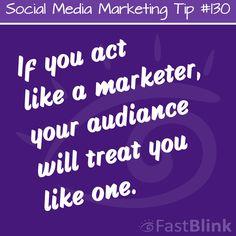 Social Media Marketing Tip #130  #SocialMedia #SocialMediaMarketing #Marketing #Quotes #MarketingTips #MarketingQuotes #Business