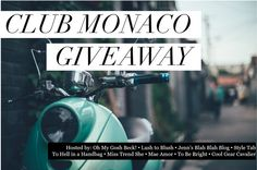 Enter To #Win The $200 Club Monaco Gift Card #Giveaway | Jenns Blah Blah Blog | Tips & Trends for Living The Family Life