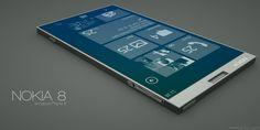Nokia 8 – Windows Phone 8 (User Concept Phone)
