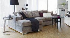 harmaa sohva