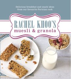 Cover of my first book 'Rachel Khoo's Muesli and Granola' (originally published in French while I was living in Paris!)