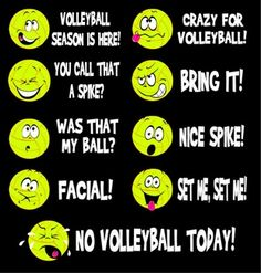 Follow volleyball_ac on Instagram if you love your daily dose of volleyball!!!!! (: I want this shirt!! :D Hahahaha .............................................................Funny Volleyball Emoticon Sayings Short Sleeve Black Tee Shirt - Q-sports Best Selling Products: