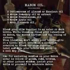Mabon oil