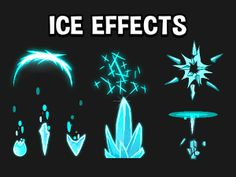 ice game effects and ice spells Arte Elemental, Elemental Magic, Monster Concept Art, Game Concept Art, Beautiful Fantasy Art, Dark Fantasy Art, Body Drawing Tutorial, Ice Powers, Anime Zodiac