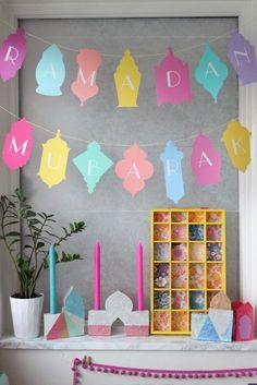 DIY Islamic concrete candle holders – The perfect Ramadan craft or Eid gift… Eid Crafts, Ramadan Crafts, Diy And Crafts, Crafts For Kids, Paper Crafts, Fest Des Fastenbrechens, Eid Ramadan, Decoraciones Ramadan, Concrete Candle Holders