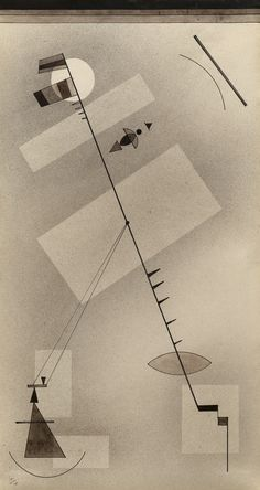 Taut Line by Vassily Kandinsky