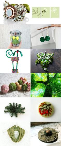 Green by Talila on Etsy--Pinned with TreasuryPin.com