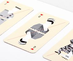 Formafantasma . Wien Spielkarten