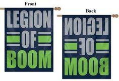 Seattle Seahawks Legion of Boom House Flag, 27x37 NFL Banner