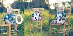 ONE Year Old photo shoot in the park. SUCH a cute session! One of my favorites EVER. First birthday photos. First birthday pictures. Baby boy turns one. #KBrownPhotography #OneYearOld #Photography