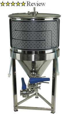 Conical Cooling Jacket Beer Brewing Equipment Brew Tank