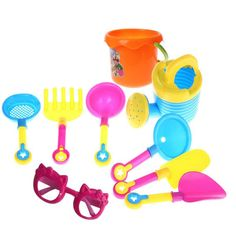 Cheap oct, Buy Directly from China Sand Sandbeach Kids Beach Toys Castle Bucket Spade Shovel Rake Water Pretending Toys Gift Levert Dropship Oct 26 Kids Castle, Toy Castle, Sand Play, Kids Sand, Bucket And Spade, Beach Bucket, Sand Toys, Outdoor Toys, Outdoor Fun