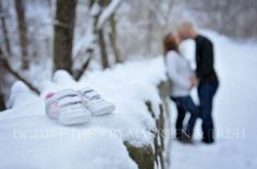 winter maternity photography - Google Search
