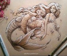 Mermaids kellee art
