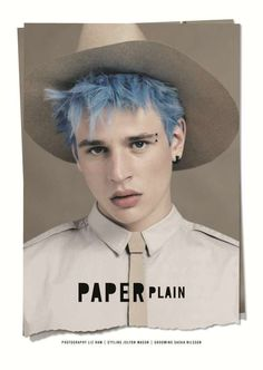 Blue-Haired Boy