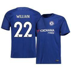 17-18 Chelsea Home Shirt willian Cheap Football Shirts dfe2383d9