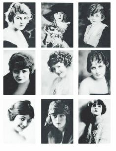 Screen Beauties - Digital Collage Sheet - FREE TO USE