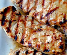Olive oil, Dijon mustard, garlic, lemon, lime, honey and brown sugar combine to make a wonderfully tangy honey mustard marinade for your chicken