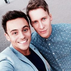 Pin for Later: Relive Tom Daley and Dustin Lance Black's Love Story Through Their Snaps