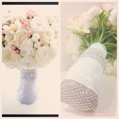 Roses, ranunculus and freesia with crystals  Steve Weiss Phtography