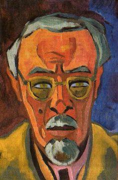 Schmidt-Rottluff, Karl (1884-1976) - Self Portrait - 1944