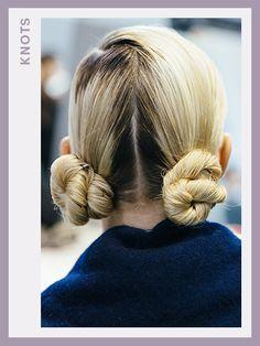 Fashion Week Hair - Dior | allure.com