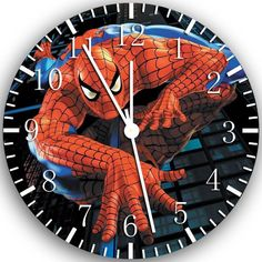 New Spiderman wall clock 10 Room Decor B1 Fast shipping. $9.49, via Etsy.