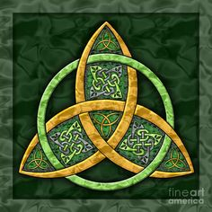 celtic artwork | Celtic Trinity Knot Painting