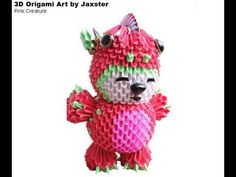 ▶ 3D Origami - My Best Art Collection - Jaxster (Modular Origami) - YouTube