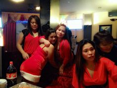 at alabang Christmas party