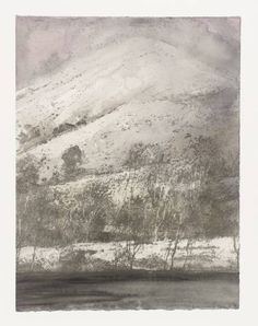 Norman Ackroyd 'Cartmel Fell', 1996 etching and watercolour © Norman Ackroyd Landscape Drawings, Landscape Art, Landscape Paintings, Art Drawings, Norman Ackroyd, Amazing Drawings, Monochrom, Print Artist, Light In The Dark