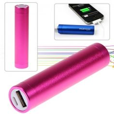 $7.29 gift idea! A battery with a USB plug on it that fits in your purse for charging your phone when you aren't around any outlets for a long time (camping/beach/shopping etc)