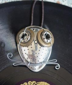 Found Objects Sculpture Owl | ... sculpture owls from found metal objects. His project is Focus on Art