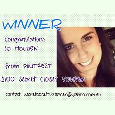 Our Secret Closet Winner