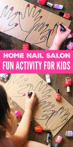 DIY At Home Nail Salon!