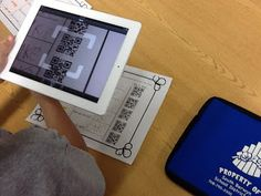 This is a first grade lesson but I love the idea: Read It, See It, Understand It, Scan It to check it
