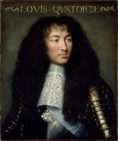 Louis XIV, roi de France, à 24 ans, en 1662, par Le Brun