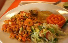 ARROZ DE MARISCOS, como preparar esta receta típica de la gastronomía de Cartagena de Indias.  www.cartagenadeindiaslive.com