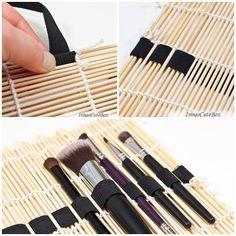 Make up organiser - this would be great for paintbrushes, pottery tools, crochet hooks, knitting needles....