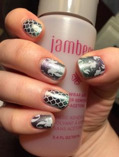Mermaid Tales and Ocean Ombre (retired) https://brittanyherz.jamberry.com/us/en/shop/products/mermaid-tales