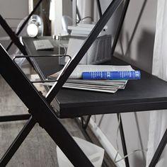 Modern Black Metal Twin Size Bunk Bed Loft with Desk & Ladder House Bunk Bed, Bunk Bed Ladder, Bunk Bed Plans, Loft Bunk Beds, Metal Bunk Beds, Kids Bunk Beds, Futuristic Bed, Rustic Bunk Beds, Adult Loft Bed