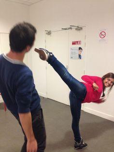Mathilde : Suit une formation de Ninja ! #Y5jeu2014