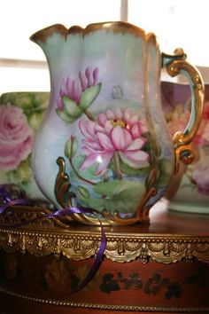 Tankard-16 Limoges Cider Pitcher For Sale | Antiques.com | Classifieds
