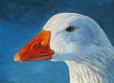 white goose by ~dutchway on deviantART
