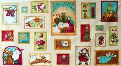 Benartex - Nancy Halvorsen 'Nancy's Holiday Favorites' Bildgröße 110 cm x 60 cm we-145-13-6089 https://planet-patchwork.de/de/article/kp/21857/3/