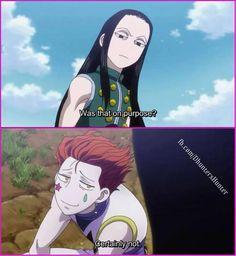 Hisoka & Illumi... cute